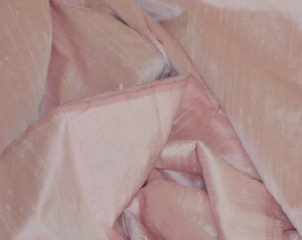 Silk dupioni in  Orchid pink, Extra wide  54 inches , Half yard, DEX  333