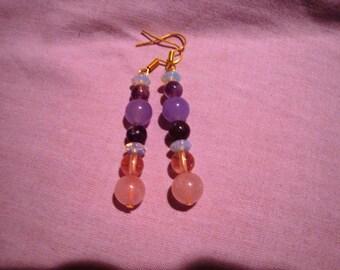 Earrings sweet evening