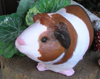 GUINEA PIG STATUES  Life Sized Painted Like your pet