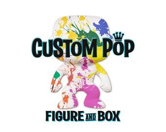 Custom Funko Pop figure with box