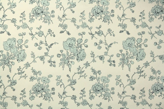 1950s Vintage Wallpaper By The Yard