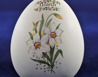 Hand Painted Egg from Womack's Collectibles - March