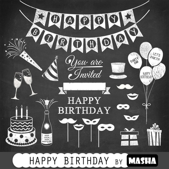 Birthday Clipart HAPPY BIRTHDAY CLIPART With