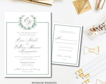 Windsor Wedding Invitations