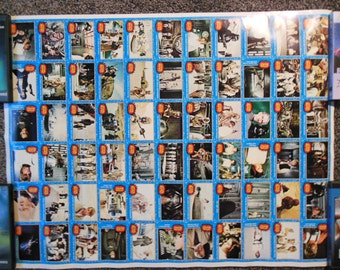 Topps Star Wars Gum Card Poster 1977