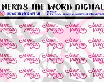 Jane the Virgin REMINDER Planner Stickers
