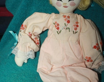 vintage Applause Knickerbocker Raggedy Ann rag doll