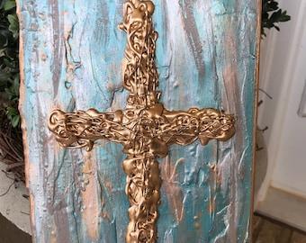 Hand Made Art Crosses