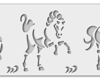 Stencil horses 01_0048