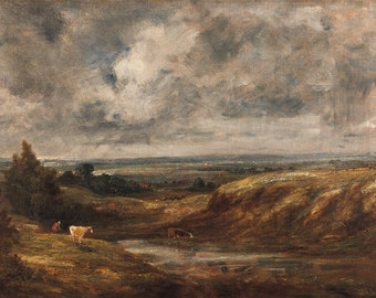 John Constable: Hampstead Heath. Fine Art Print (5046)