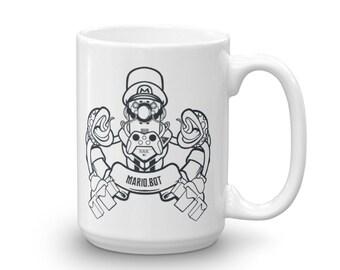 Mario Bros Mario.Bot Mug