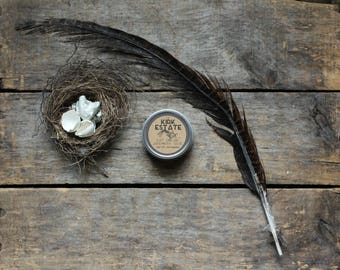 Aunt Doloris' Hand and Body Salve, solid lotion, handmade salve, all natural, lightly scented, gardener balm, natural balm, winter balm