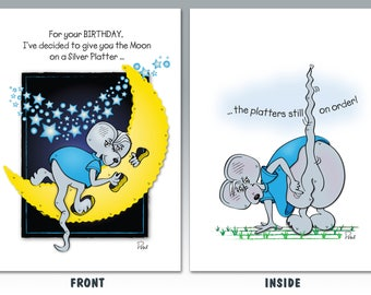 11 Silver Platter  |  Birthday Card
