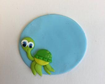 Green Turtle nurse badge