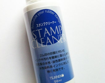 stamp cleaner. cleaning liquid for tsukineko water based inks