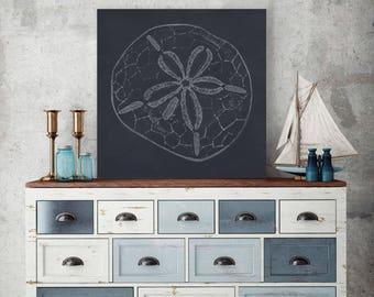 Sand Dollar Art, Abstract Art, Abstract Sand Dollar, Abstract Nautical Print, Coastal Themed Art, Coastal Beach Decor, Beach House Decor