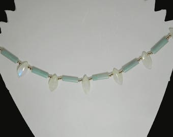 rainbow moonstone jewelry,moonstone jewelry,amazonite jewelry,sterling silver jewelry,brides,jewelry,summer jewelry,marquise shaped gemstone