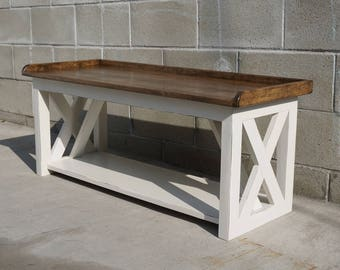 Farm Style Kitchen Bench   Made To Order