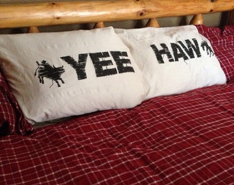 Yee Haw Pillowcase set