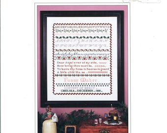 Canterbury Designs * Fanny Maher Sampler - 1880 * An Antique Reproduction - vintage cross stitch pattern