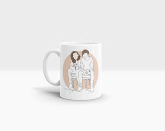 Better Together 11oz Ceramic Mug One Direction Harry Styles Louis Tomlinson Larry Stylinson Music Home Kitchen Crockery Cup