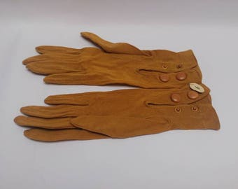 Antique cotton childrens gloves