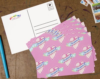 Thanks! 5x7 Postcard 5 Pack