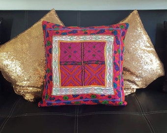 Afghani Handmade Embroidered Square Cushion Covers!!!!