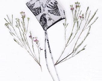 Linen Bonnet - Bonnet - Reversible Baby bonnet - Sun Bonnet - Sunhat - Floral Bonnet - Toddler Hat - Retro - Bonnet - Thief and Bandit
