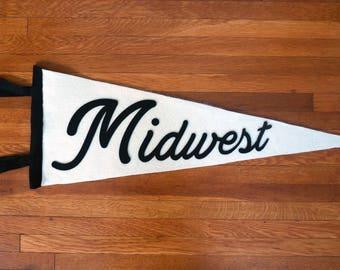 Midwest Felt Pennant