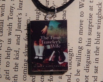 The Time Traveler's Wife Book Necklace, Brooche, or Keychain