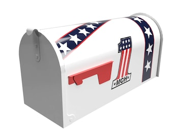 USA 1  Mailbox Free Customization ! Your Numbers Added
