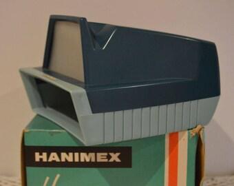 Hanimex Hanorama - Slide Viewer for 35mm & Superslides - No Batteries Needed
