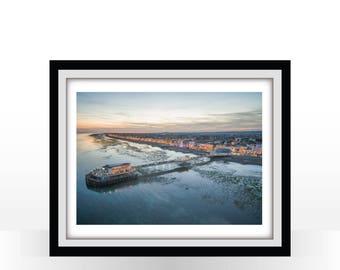 Worthing Pier at Dusk