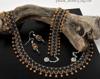 Celtic beadwoven set
