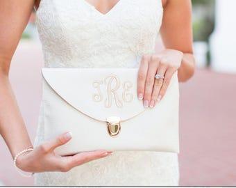 Personalized Envelope Clutch | Envelope Clutch Bag | Personalized Clutch | Bridesmaid Clutch |Monogrammed Clutch | Personalized Bag