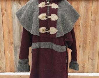 Wool Coat, Renaissance style, vintage