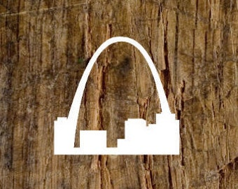Gateway Arch St. Louis Decal