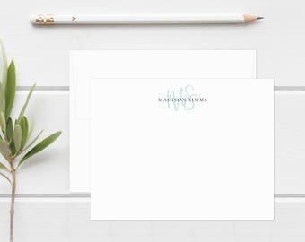 Personalized Stationery. Personalized Notecard Set. Personalized Stationary. Monogram / Monogrammed Stationery / Note Cards. Beauty Monogram
