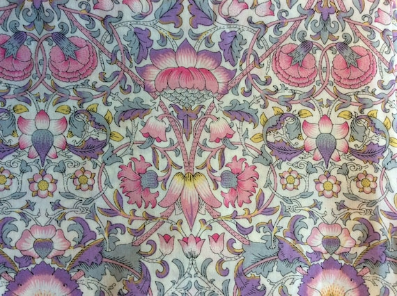 Tana lawn fabric from Liberty of London, Lodden