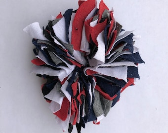 Cotton Scrunchie- R/W/B/B/G