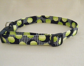 Tennis Balls - Dog Collar