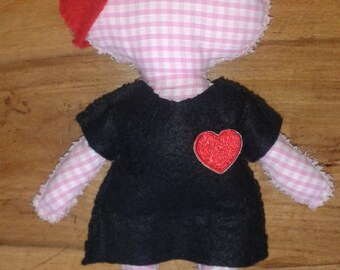 Cute Heart Dress Dolly