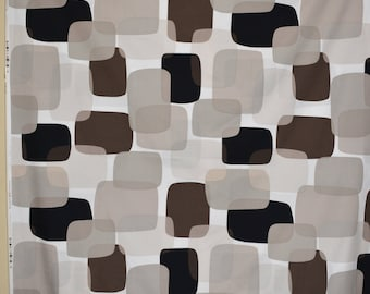 Modern decor geometric fabric mod contemporary Marcus Brothers color block sueded poplin Prints Charming black brown headboard pillows
