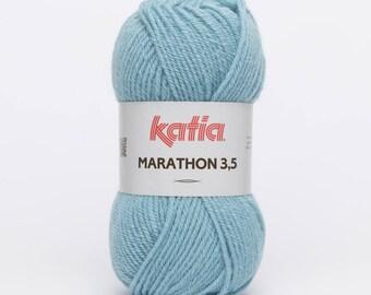 Marathon 3.5 wool blue (29) Katia - ball 50 gr