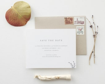 Chelsea Wedding Save the Date - Sample