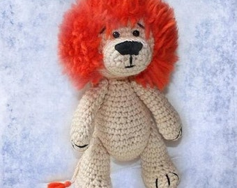 Download PDF crochet pattern 03  - Lion