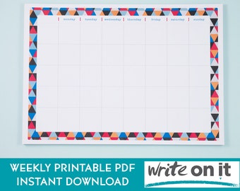 SALE   Printable Planner   Productivity Planner   To Do List   Weekly Planner   Daily Planner   Planner Pages   Instant Download  A4 Planner