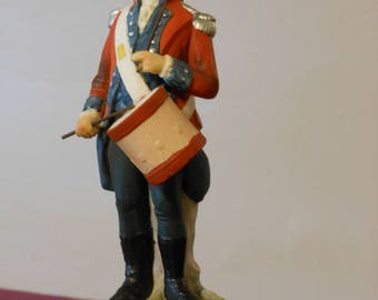 Vintage Lefton China 1796 Drummer Figurine