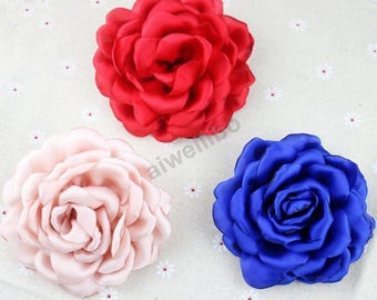 Chiffon flower,material flower, headband flower,fabric flower, DIY supplies H100081
